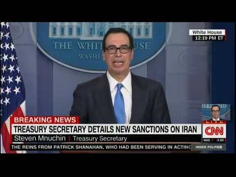 LIVE Trump Administration Preventing Iran Leaders From Having Access To Money