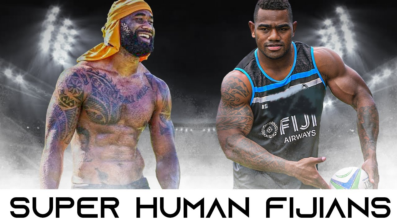 Fiji Rugby Players Are Superhuman | Fiji Rugby Bump Offs, Big Hits And Beast Mode Moments