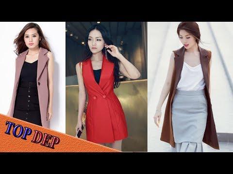 Những Mẫu áo Vest Nữ Không Tay Trẻ Trung Phong Cách Nhất