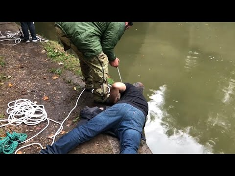 Insane magnet fishing using two 2 ton winches and a Mitsubishi 4x4 and Dan finally loses it #21
