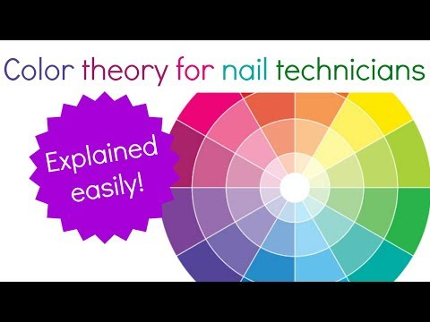 Colour theory for nail technicians | How to match colors?