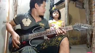 Download lagu Guns N' Roses Sweet Child O' mine Cover Hendrix TRN bersama penari latar si gadis cantik