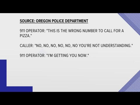 Daughter calls 911 to 'order pizza' as code to alert police to domestic violence situation involving