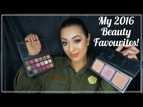 My 2016 Beauty Favourites!