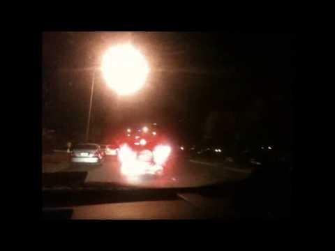 Driving Through Darwin City @ Night!