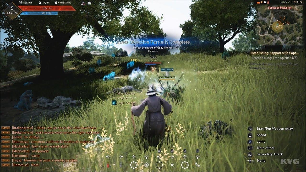 Black Desert Gameplay Ps4 Hd 1080p60fps Youtube