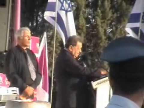 סיירת שקד טקס הזכרון במצודת יואב 2011