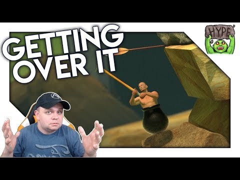 Nearly The Hardest Game I Have Played! Getting Over It Gameplay