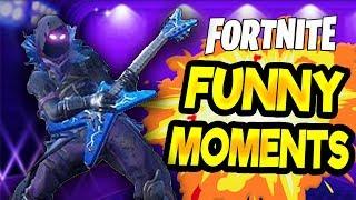 Fortnite Battle Royal FUNTAGE [Funny & Random Moments Montage] #5