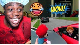 SML Movie: Jeffy's Drivers License! by SuperLuigiLogan  REACTION!!!