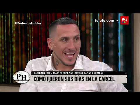 Pablo Migliore: 'Estar en la crcel no tiene nada que ver con 'El Marginal'' - Podemos Hablar