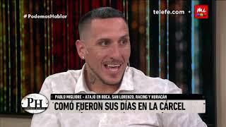 Pablo Migliore Estar En La Carcel No Tiene Nada Que Ver Con El Marginal   Podemos Hablar