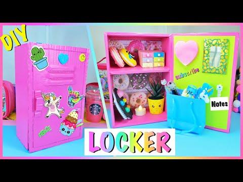 DIY Locker Organizer / Desk Organizer With Shoebox by GIRL C