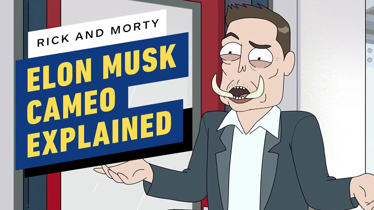 Rick e Morty Cameo de Elon Musk finalmente explicam sua piada 'Elon Tusk' no Twitter + vídeo