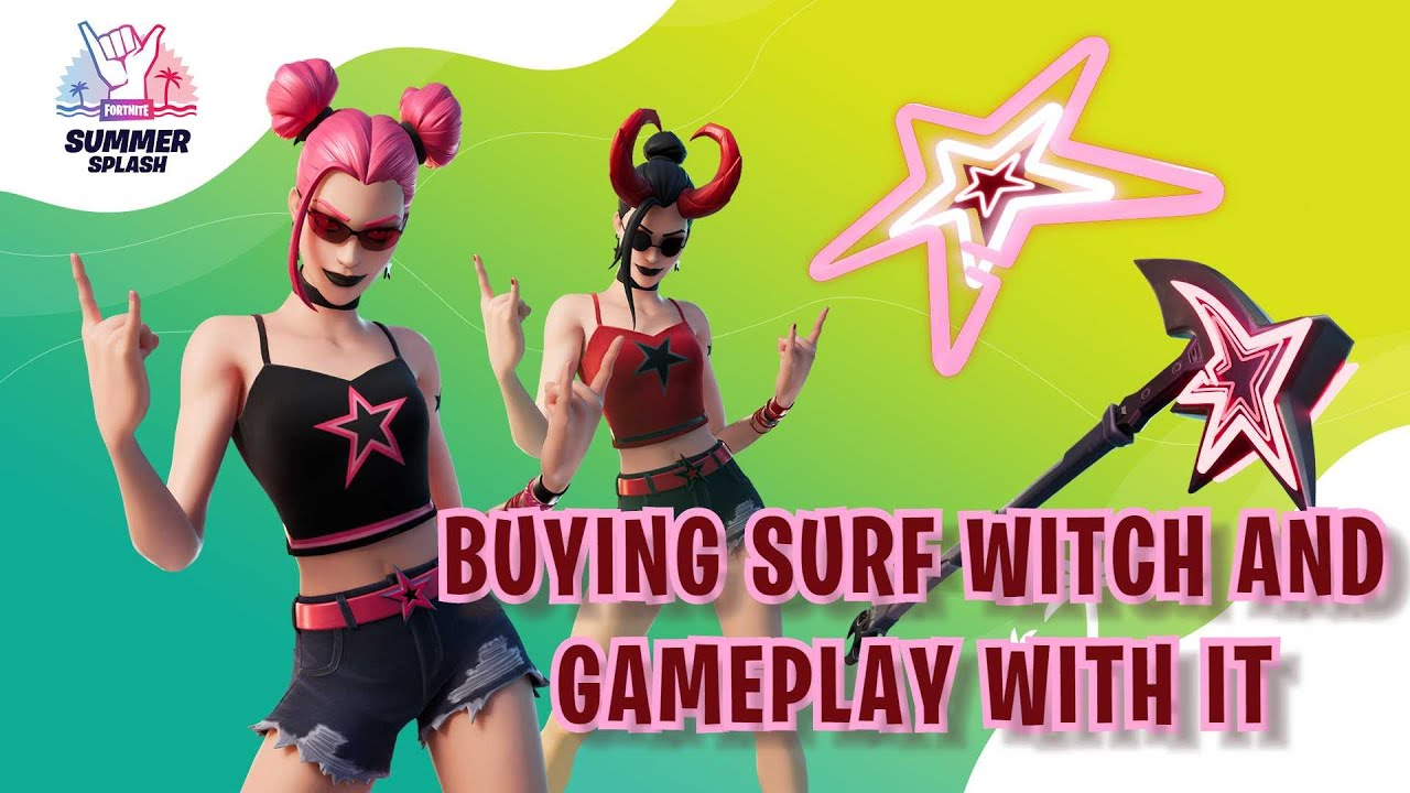 BUYING SURF WITCH AND GAMEPLAY WITH IT