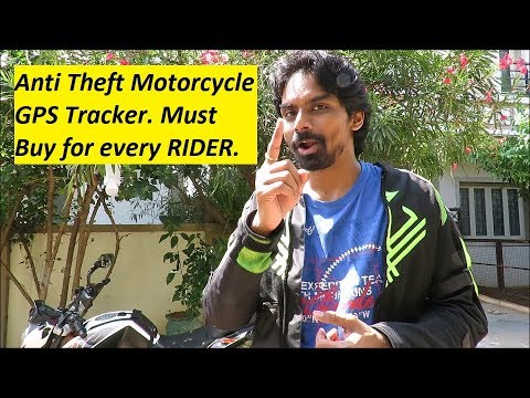 Anti Theft Motorcycle GPS Tracker. Track Stolen Motorcycle. TKSTAR TK905.