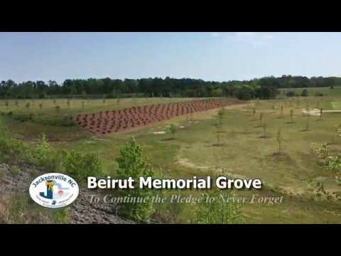 Beirut Memorial Grove Update - Spring 2016