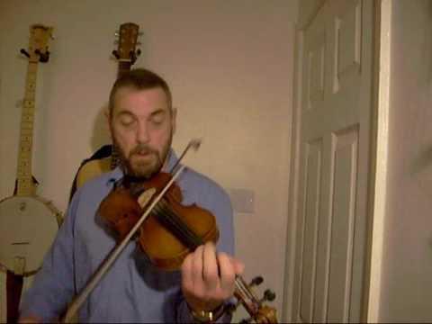 Fiddle tune medley - bourree by bach, julia delaney, wise maid, dinkeys reel