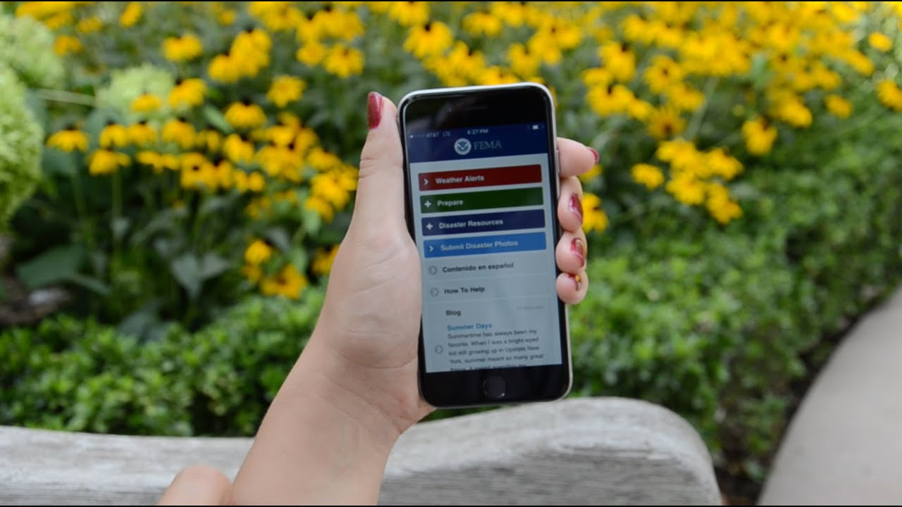 Download the FEMA App for Emergency Safety