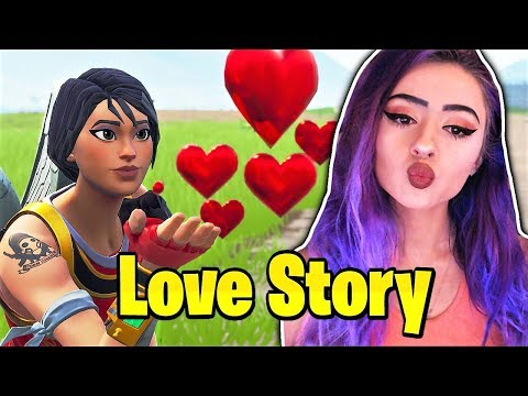 """A FORTNITE LOVE STORY ! - """"It Was Meant To Be"""""""