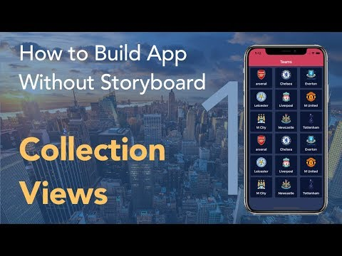 Collection Views - How to Build an App Without a Storyboard