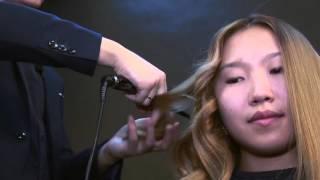 Как выпрямителем завить волосы самой