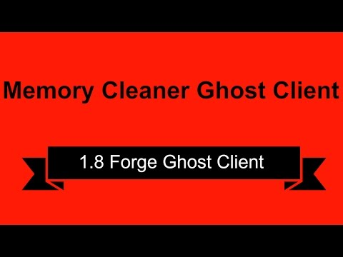 Minecraft Ghost Client 1.8 | Free Download | Forge | External GUI
