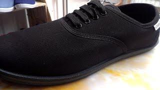 Обзор обуви!  Мокасины черного цвета