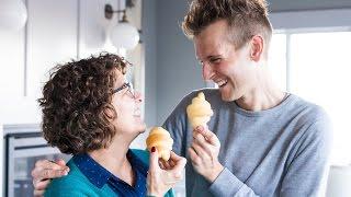 Butterhorns   Mom's Thanksgiving Roll Recipe!