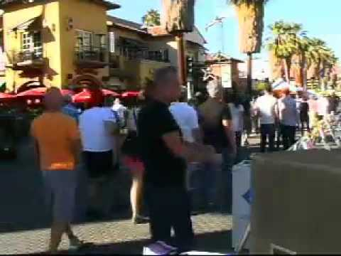 Live Broadcast at Palm Springs Pride Festival