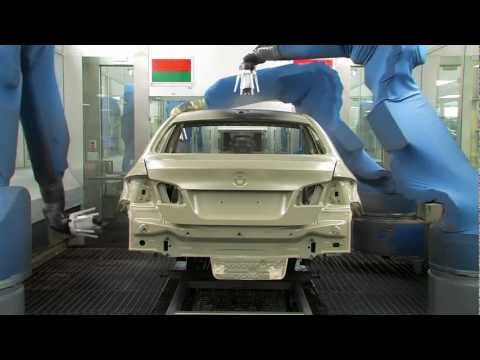 BMW 650i and 640i Paint Process at BMW Plant