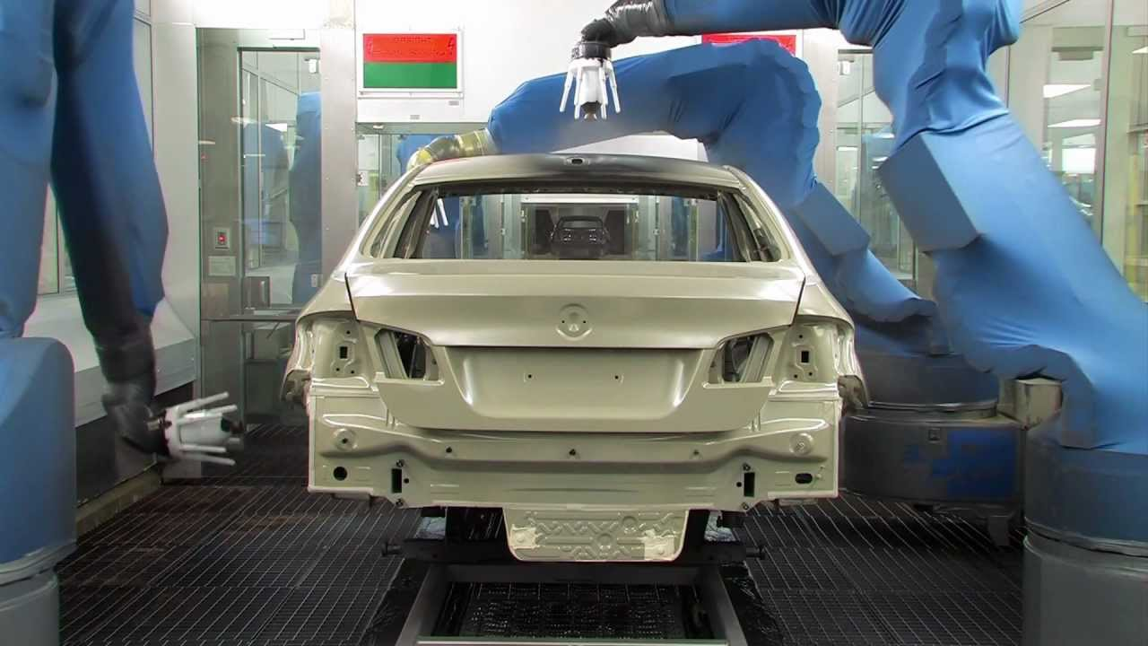 Vehicle Paint Manufacturers Bmw 650i And 640i Paint Process At Bmw Plant