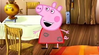 Колобок и Свинка Пеппа. Мультик для детей Детская сказка