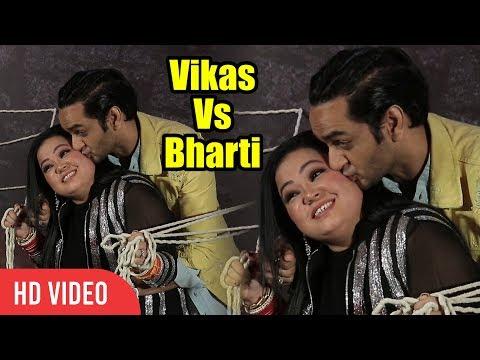 Vikas Gupta Funny Moment With Bharti Singh | Fear Factor: Khatron Ke Khiladi