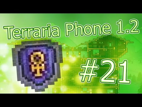 видео: lp. hm. terraria phone #21 (Создание Щита Анха!)