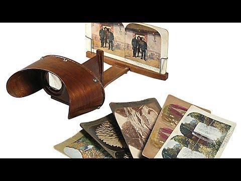 The 19th Century Craze for Stereoscopic Photography - Professor Ian Christie