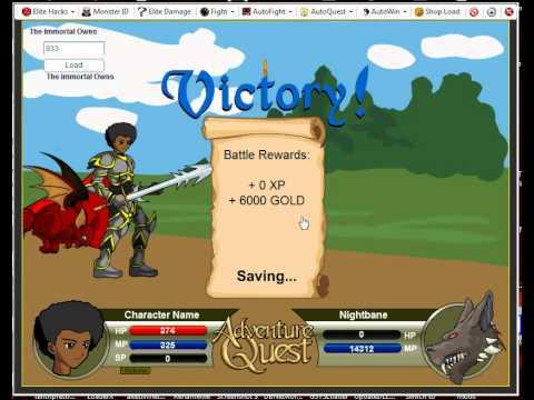 Adventure Quest Trainers: AQ Elite :2011 Feb 26:
