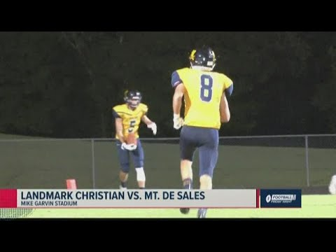 best service 237f1 34c3b Landmark Christian vs. Mount de Sales Academy 2019 Georgia high school  football highlights
