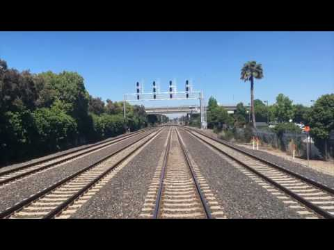 "Caltrain ""Cab-Ride"" on Baby Bullet 801 