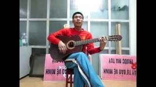 Thời gian ( Thủy triều đỏ ) Thành Trung guitar.MOV