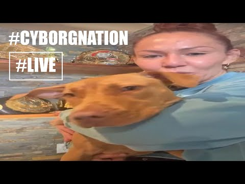 Hello...#CYBORGNATION live chat with @Cris Cyborg