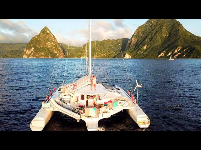 Caribbean Island Life: Internet Access WANTED!  |  Sailing family vlog