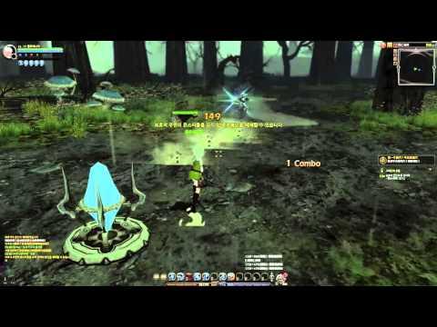 Dragon Nest - Silver Hunter Game Play #1 (LV17)