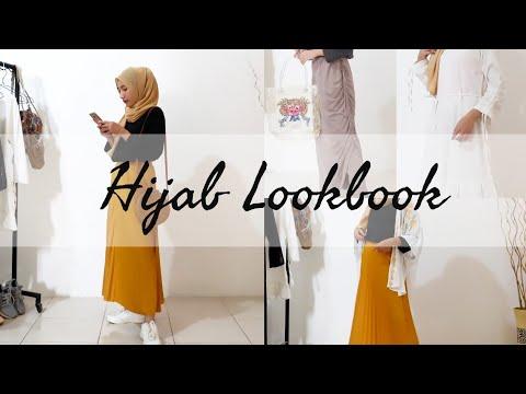 Hijab Lookbook – Outfit Ideas (Skirt Edition) OOTD Indonesia