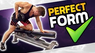 How To: Single Arm Bent Over Row | 3 GOLDEN RULES! (MADE BETTER!)