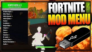 Fortnite: Battle Royale USB Mod menu sur PC Xbox one - PS4 - WORKING Fortnite Mod Menu Trolling/Hacks