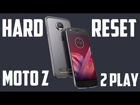 Moto Z2 Play - HARD RESET