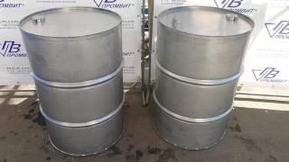 Ёмкость для хранения, объёмом 200 литров. Сталь 304 L