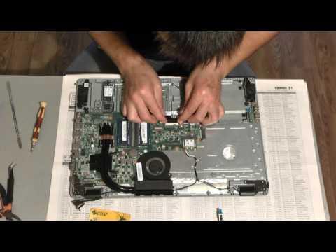 Ультрабук ACER E5-771g замена клавиатуры