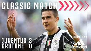 Juventus 3 0 Crotone Juventus Secure LE6END Status Classic Match Powered by Adidas